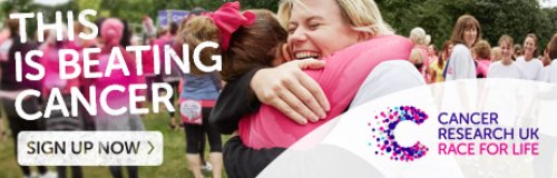Race for Life Sign Up Now