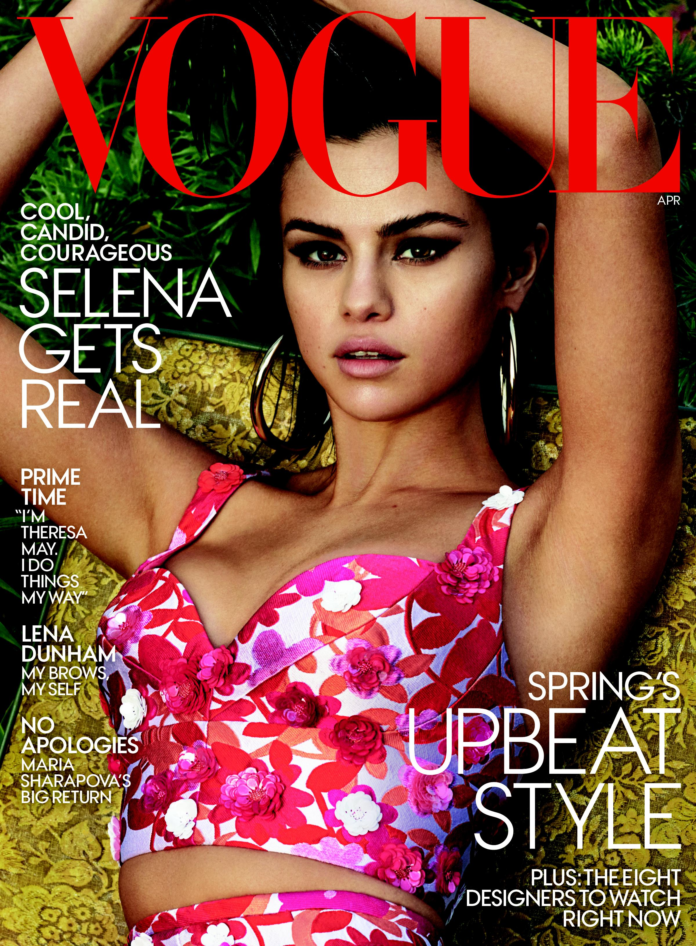 Selena Gomez for Vogue