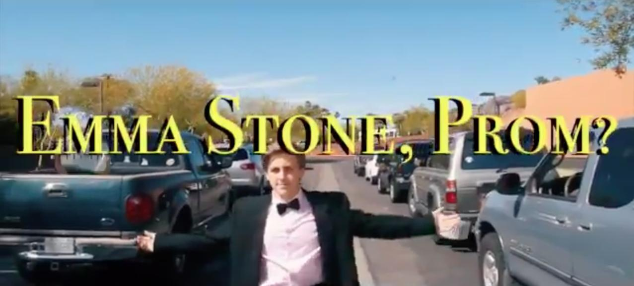 Emma Stone's Prom Invitation