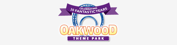 oakwood themepark logo