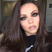 Image 1: Jesy Nelson shows off her new brunette hair colour