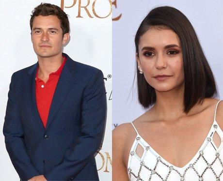 Orlando Bloom and Nina Dobrev dating rumour