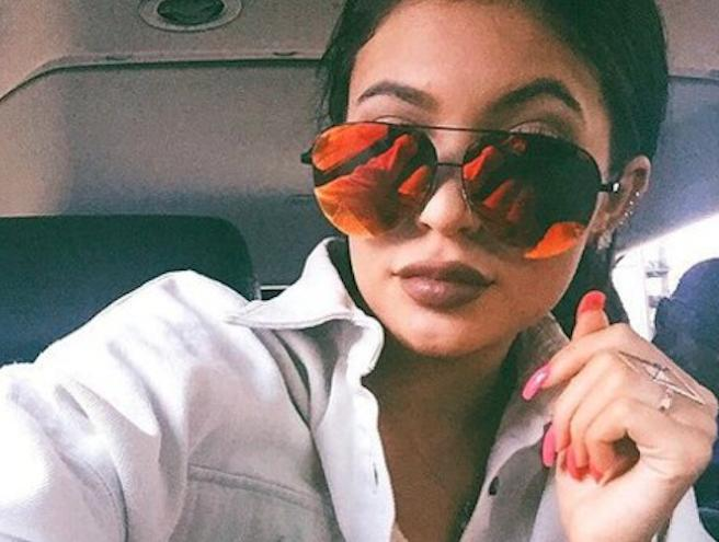 Kylie Jenner Colour Tinted Sunglasses