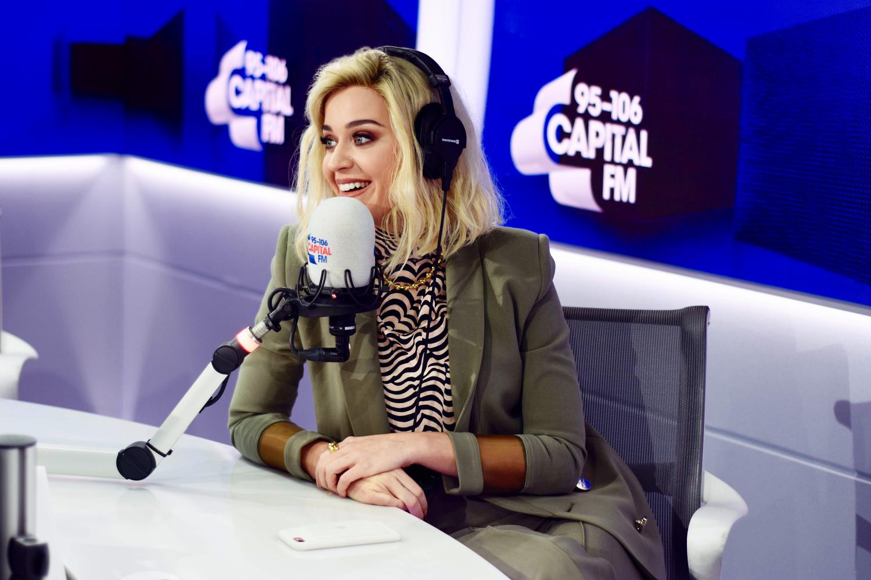 Katy Perry with Roman Kemp