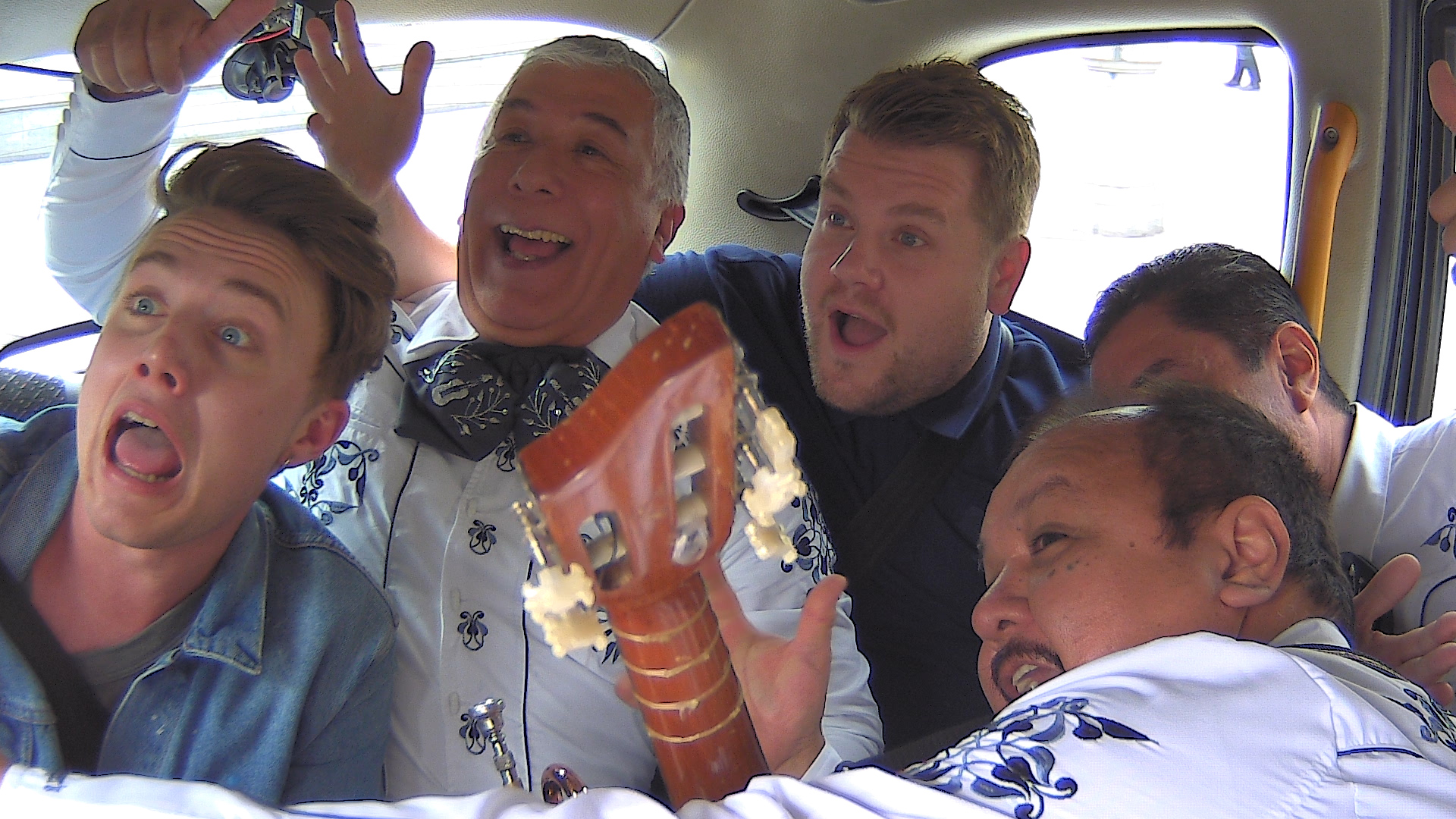 Cab Roulette with James Corden and Roman Kemp