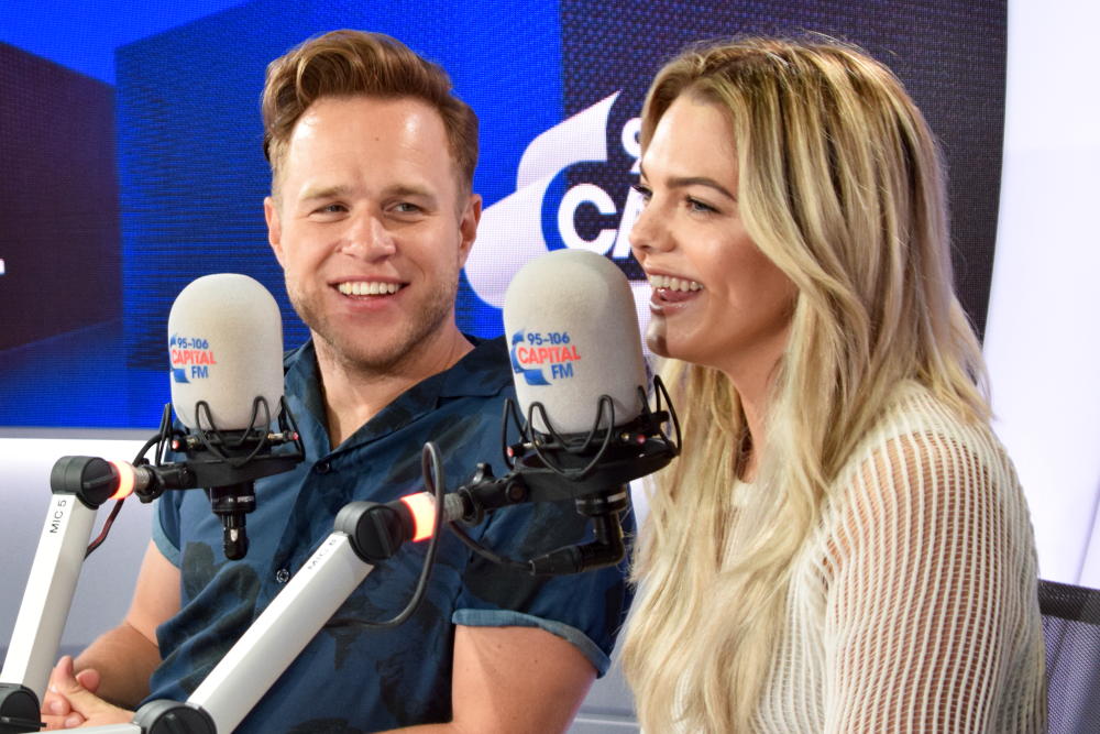 Olly Murs and Louisa Johnson w/ Capital Breakfast