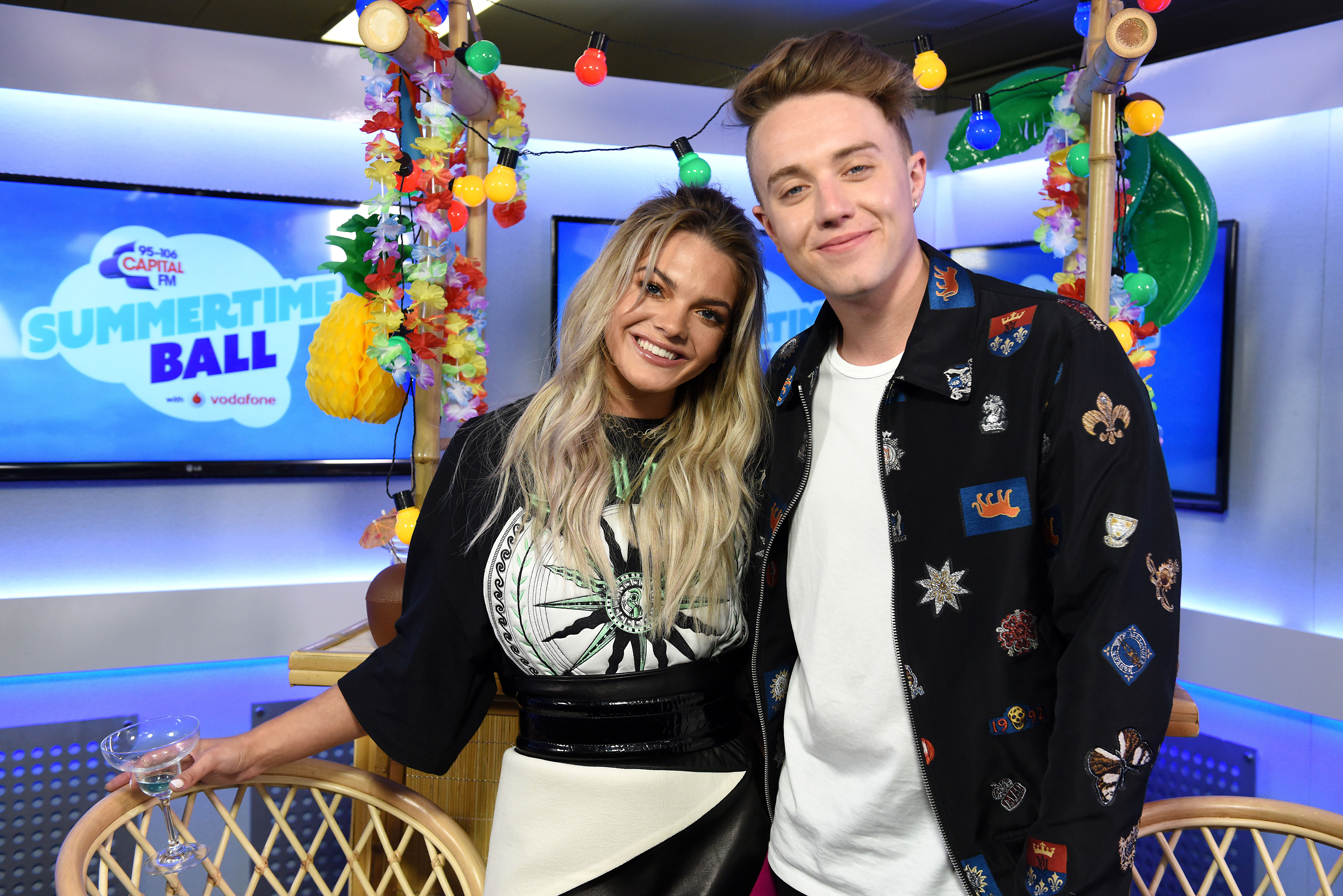 Roman Kemp and Louisa Johnson Summertime Ball 2017