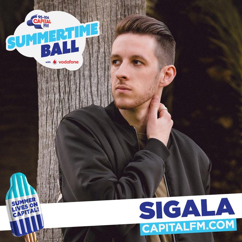 Sigala at Capital's Summertime Ball 2017