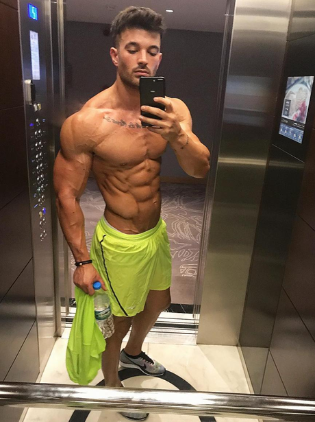 TOWIE's Mike Hassini looks completely different