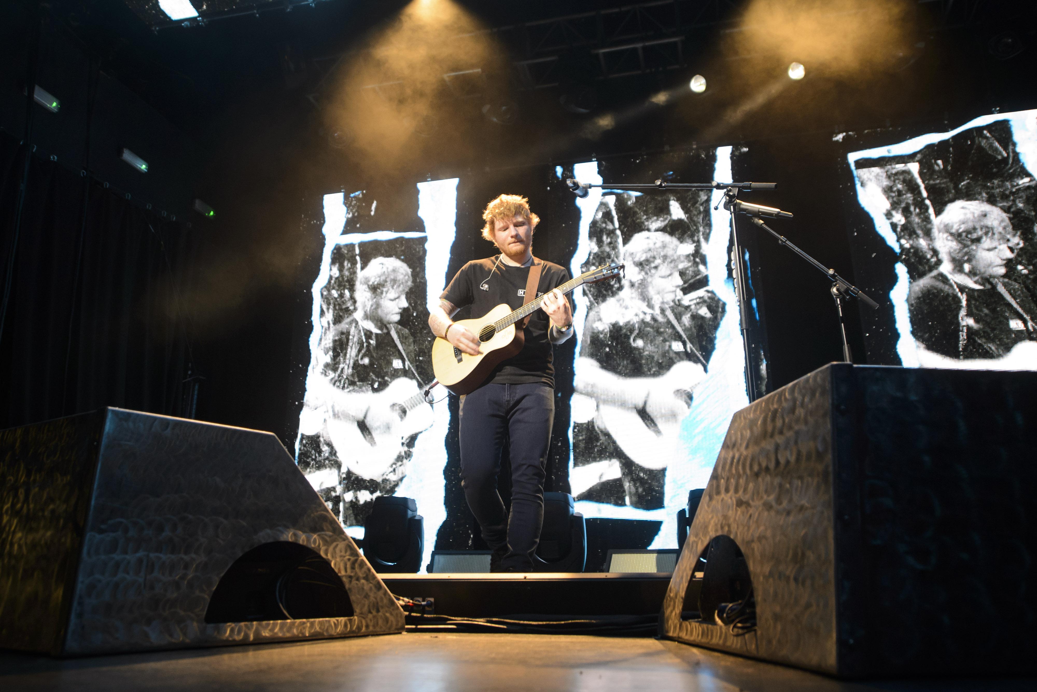 Ed Sheeran at Capital Up Close