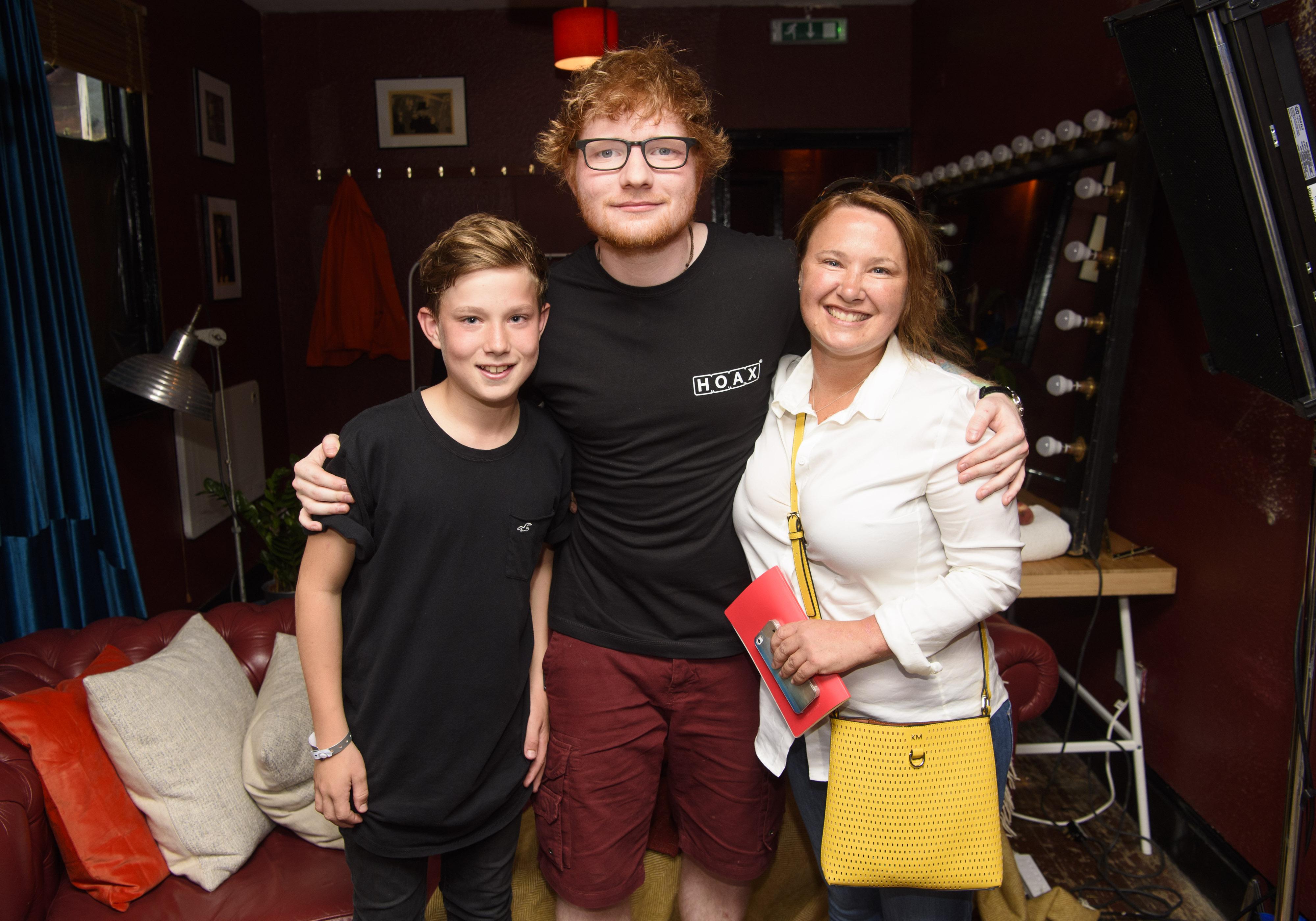 Ed Sheeran #CapitalUpClose Meet-And-Greet