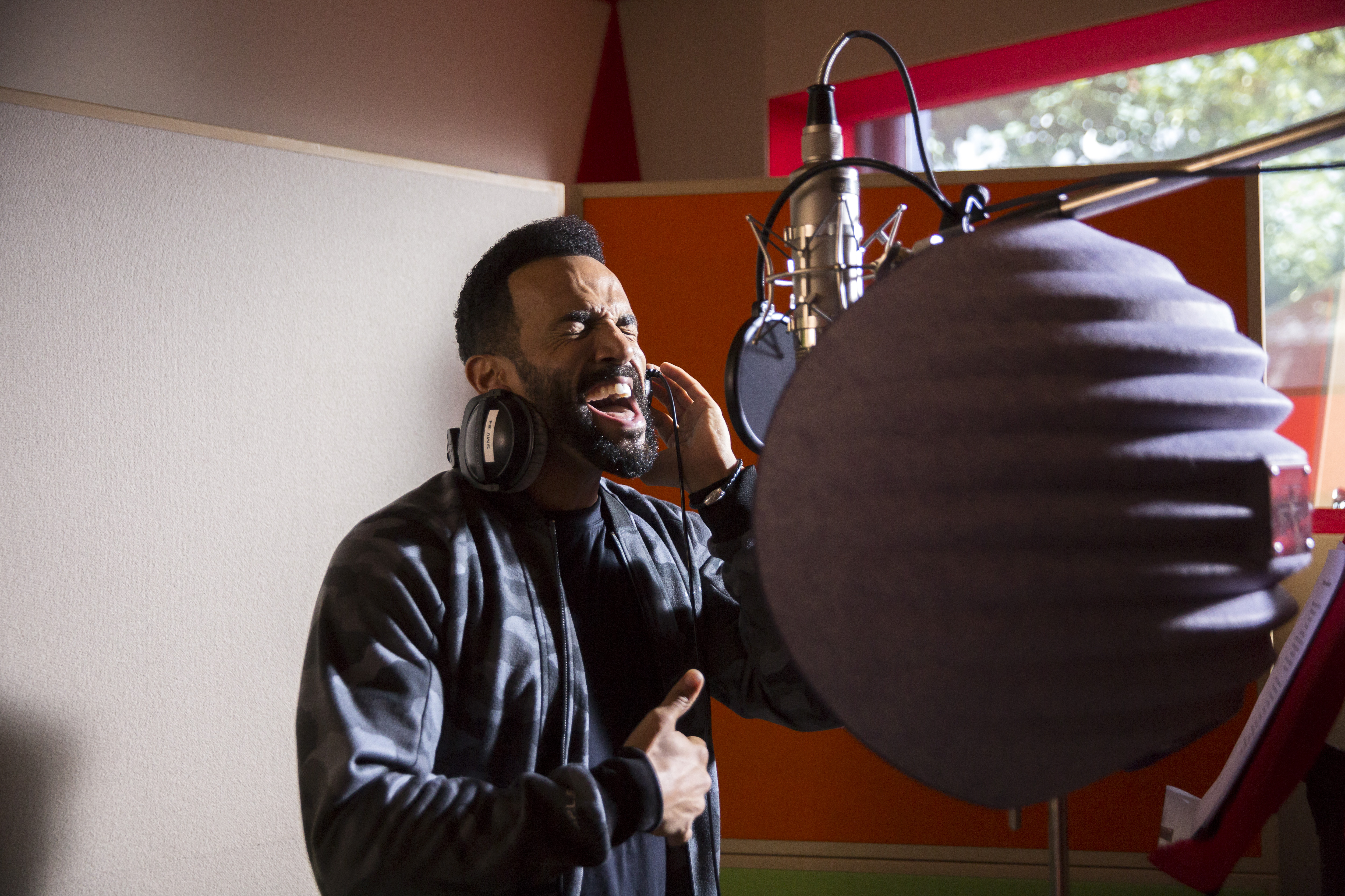 Grenfell Behind the scenes Craig David
