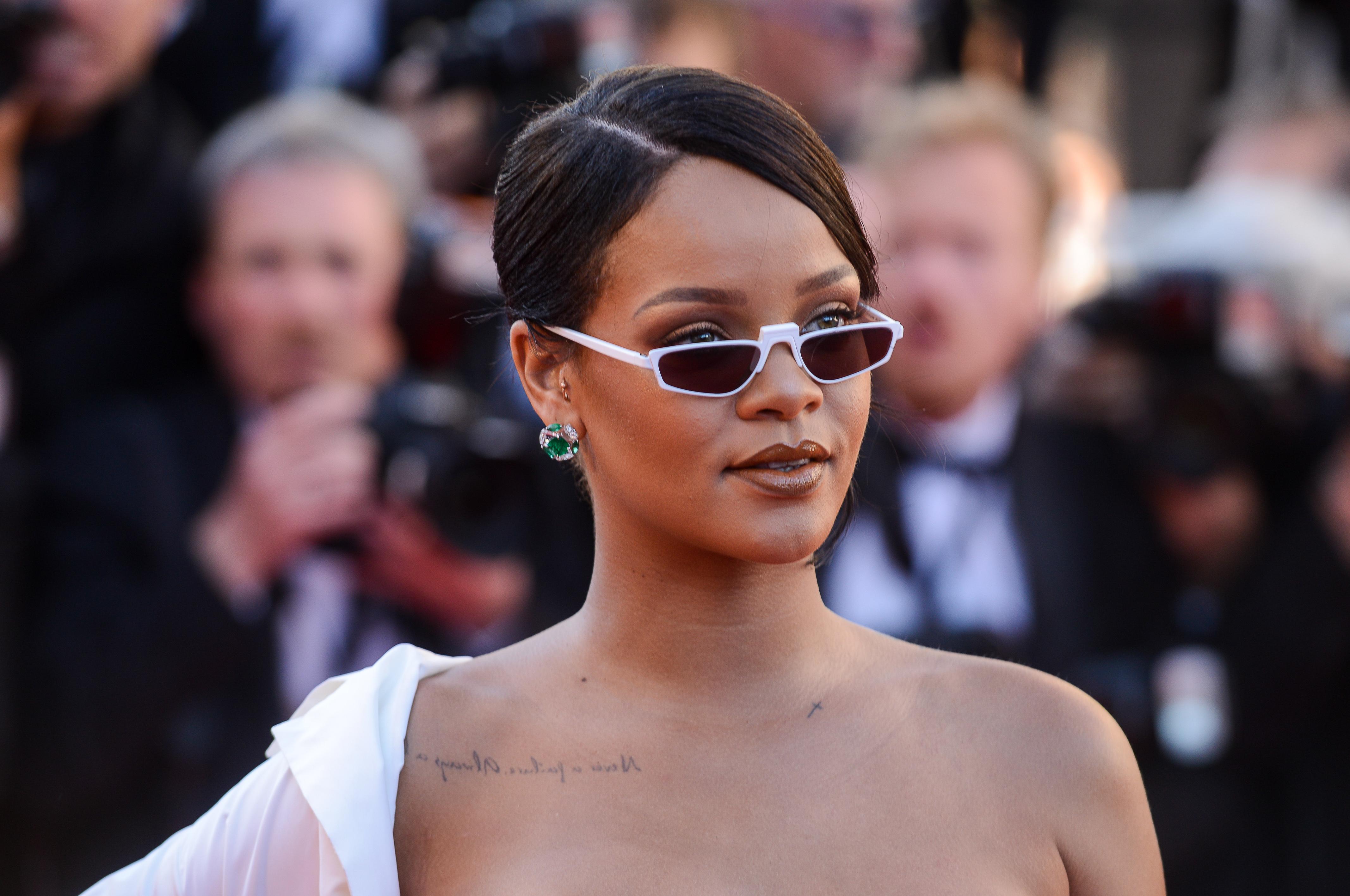 Rihanna at Okja premiere
