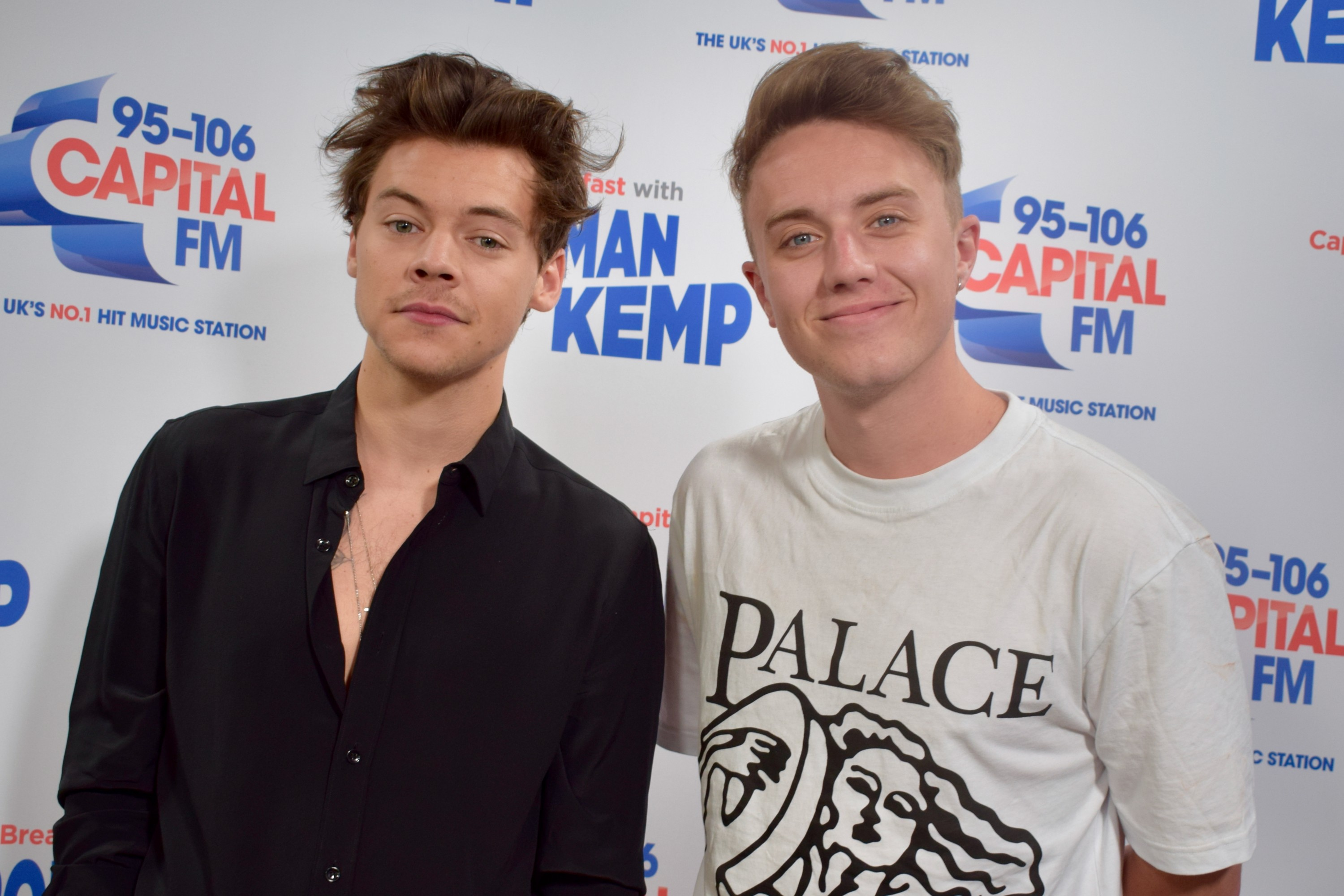 Harry Styles With Roman Kemp