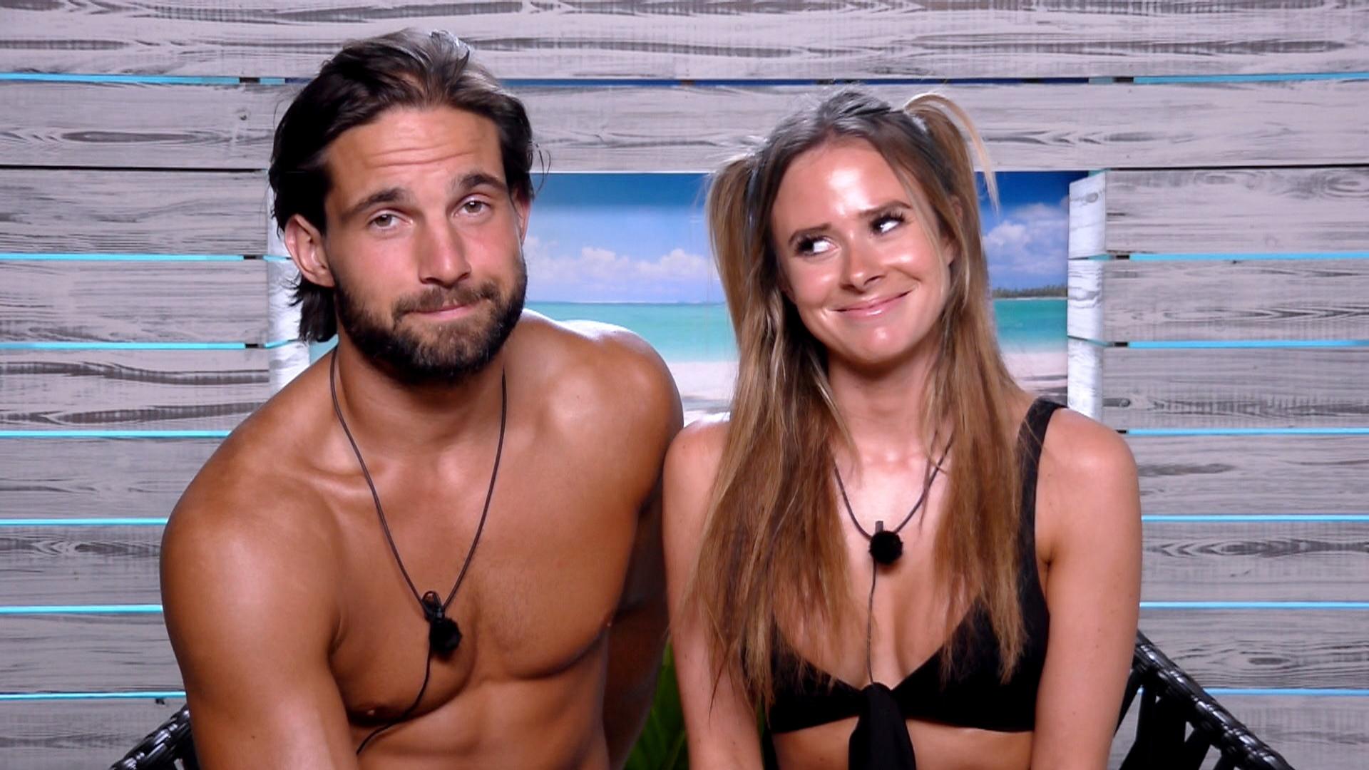 Jamie and Camilla Love Island