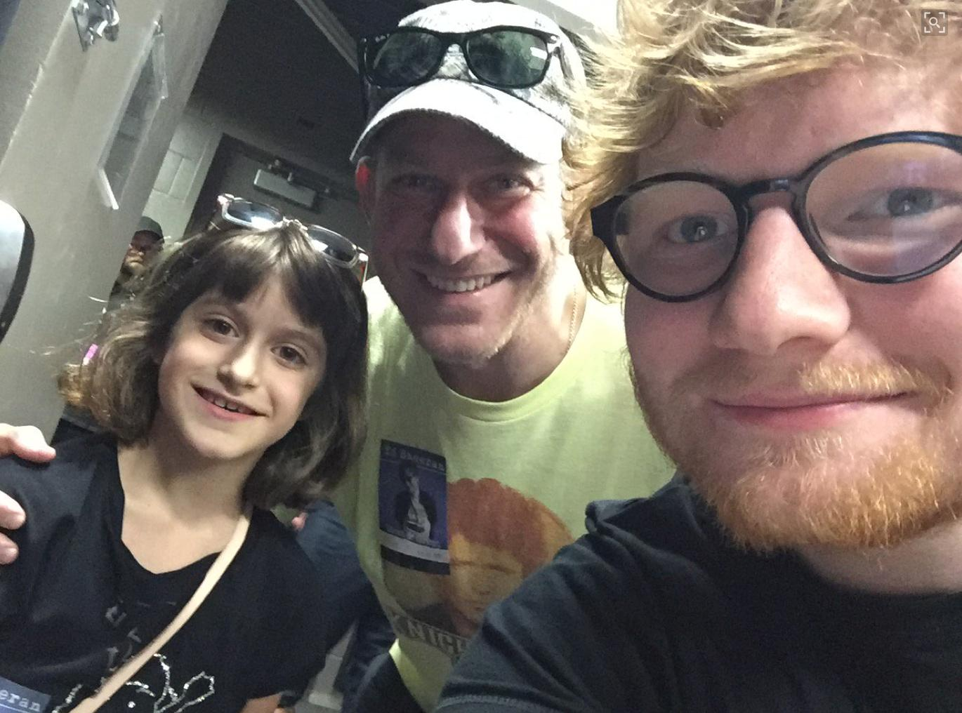 Ed Sheeran & Superfan Kate