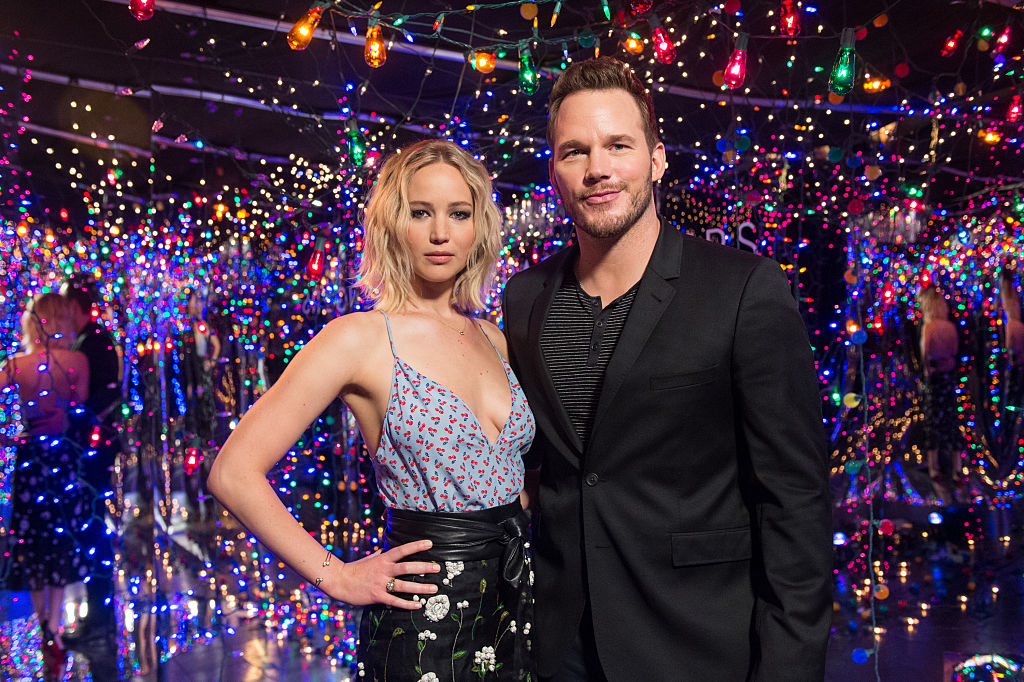 Chris Pratt Jennifer Lawrence 'Passengers'
