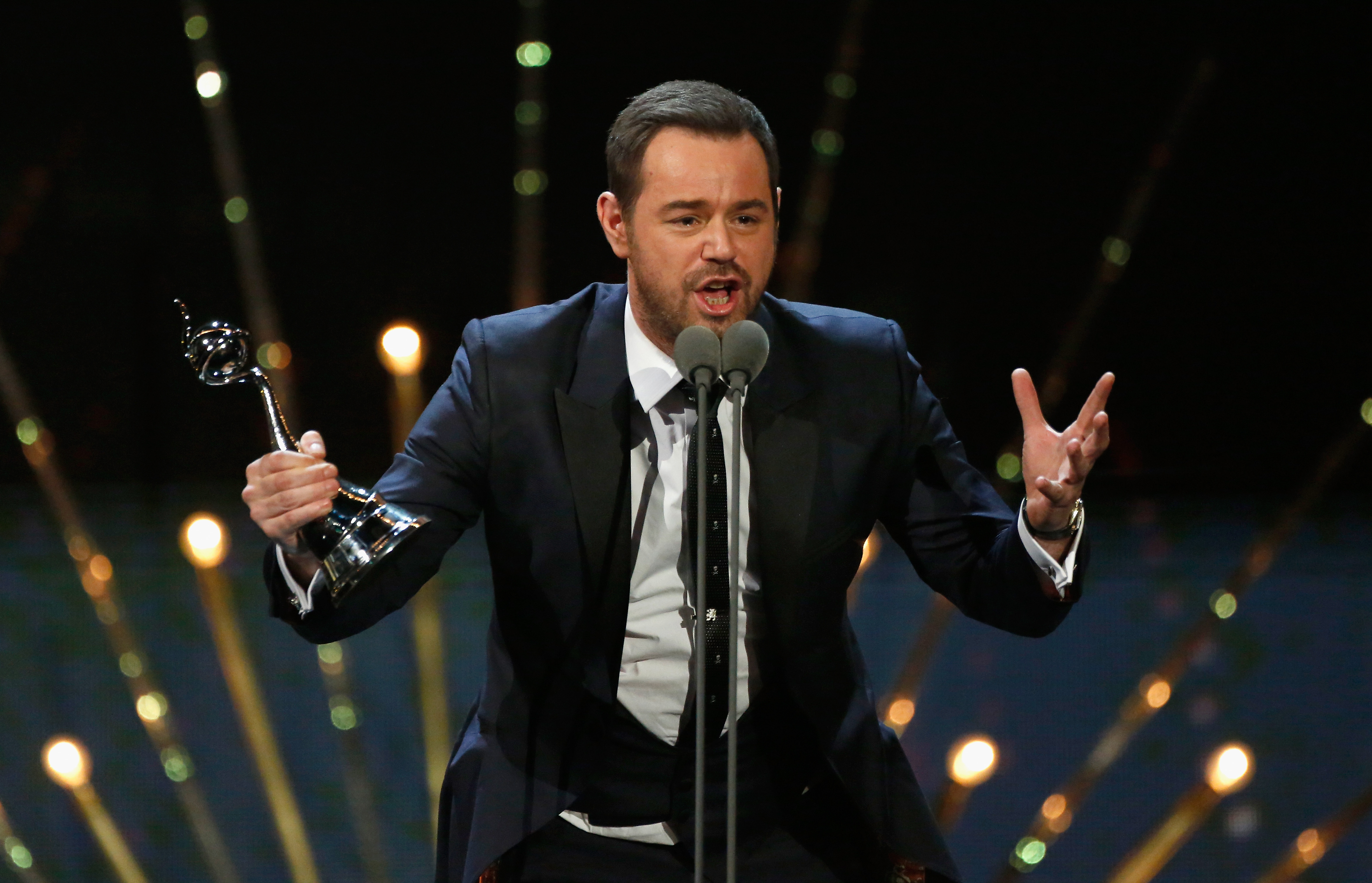 Danny Dyer National Television Awards