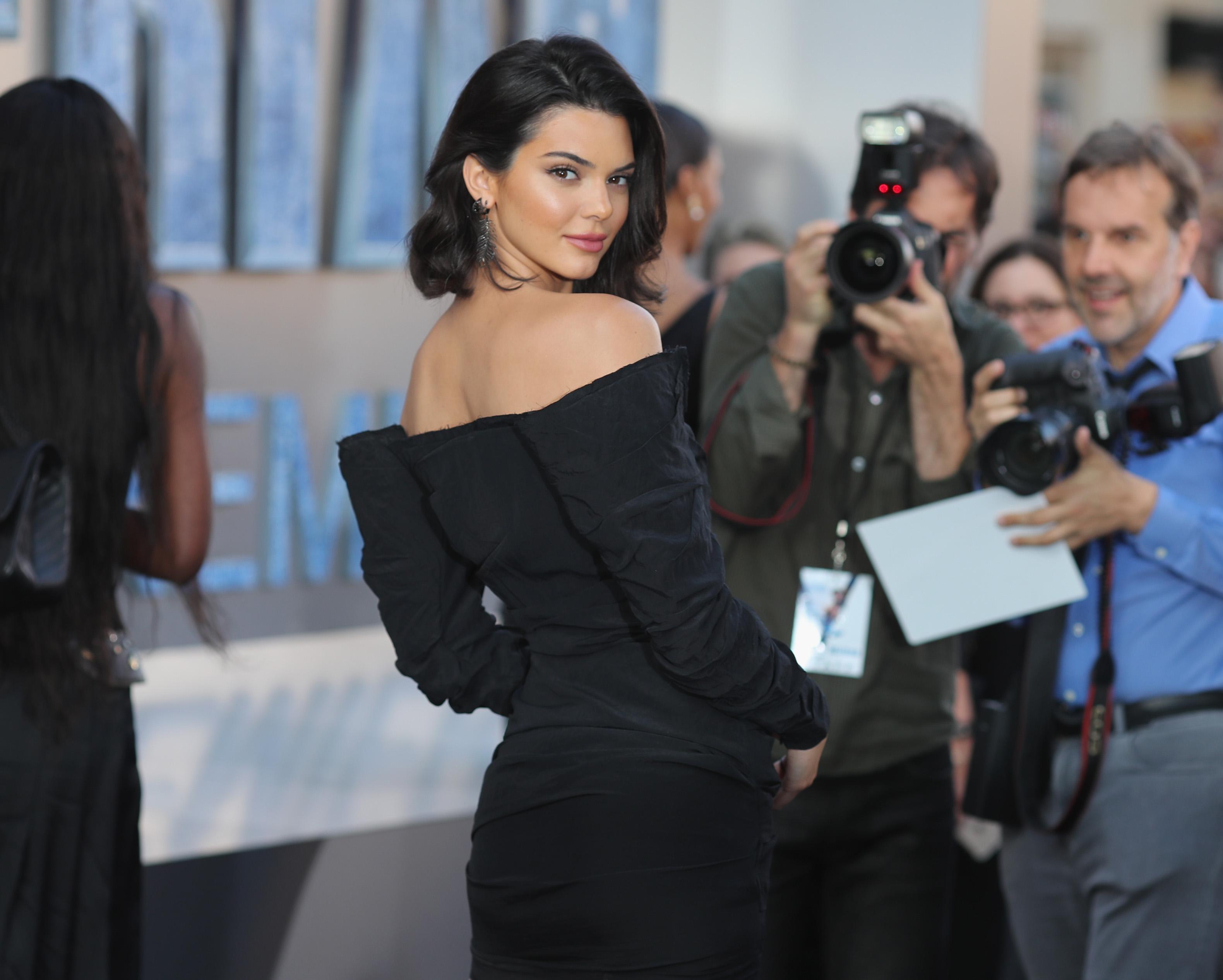Kendall Jenner Premiere of 'Valerian'