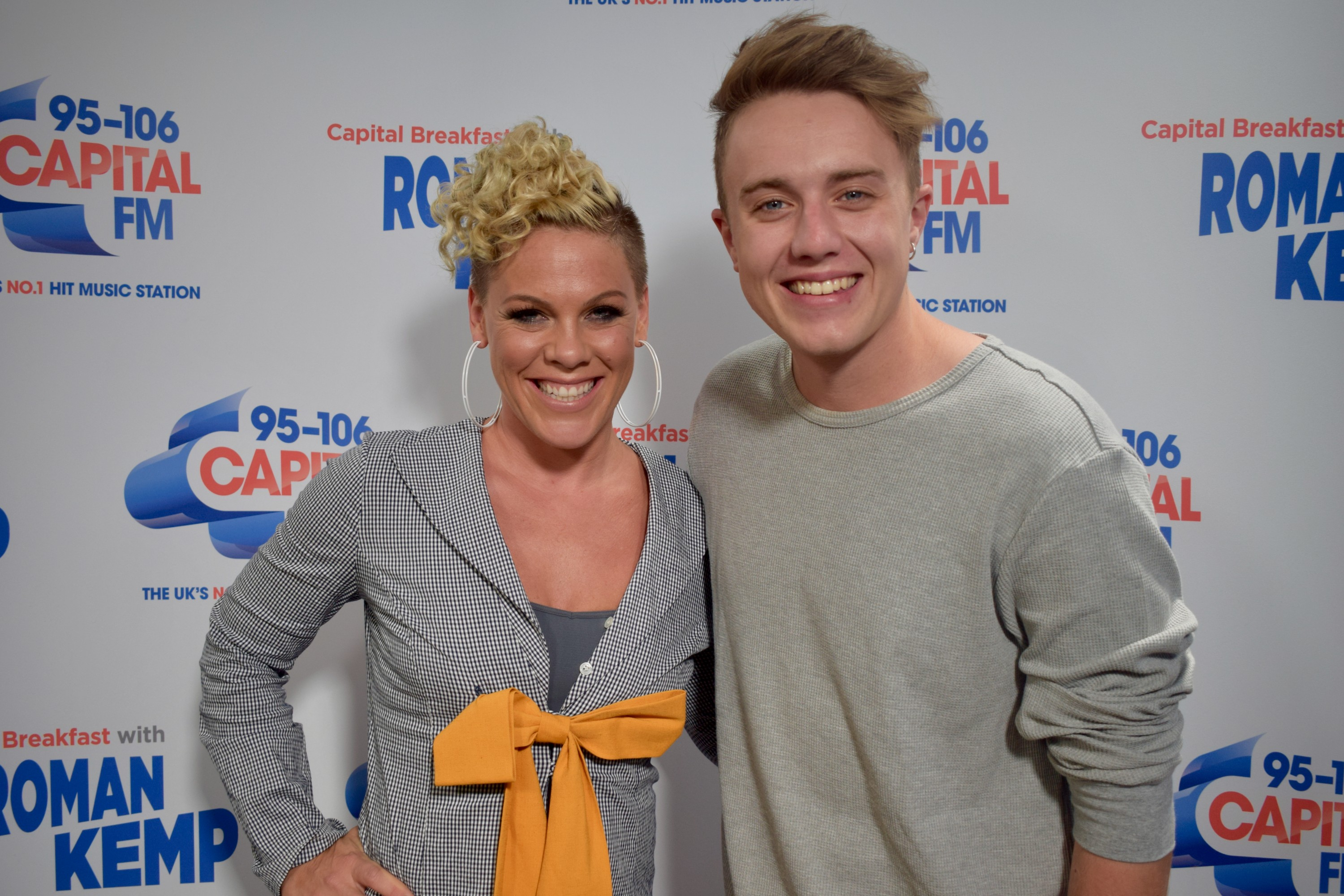 Pink with Capital Breakfast with Roman Kemp