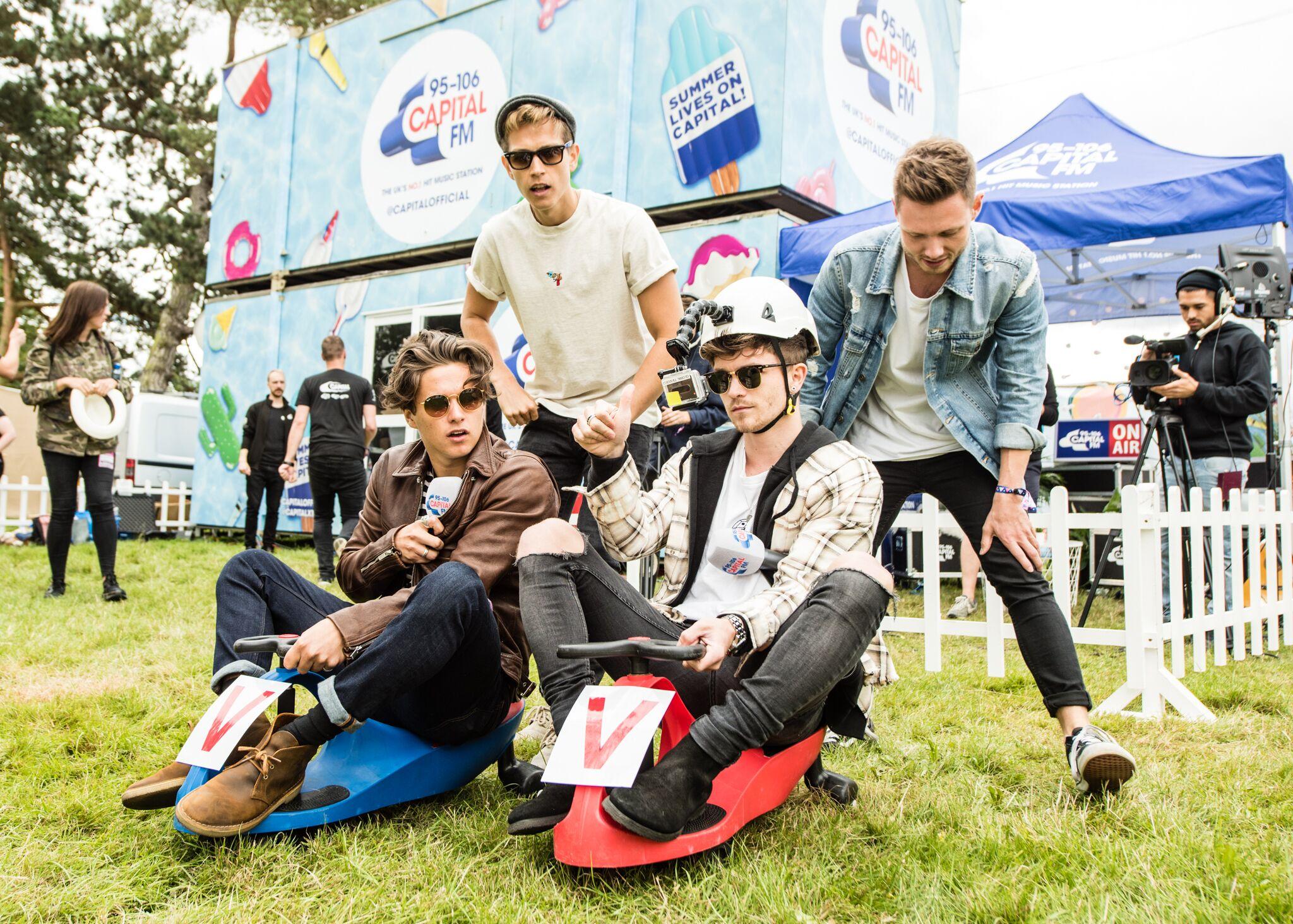 The Vamps V Festival