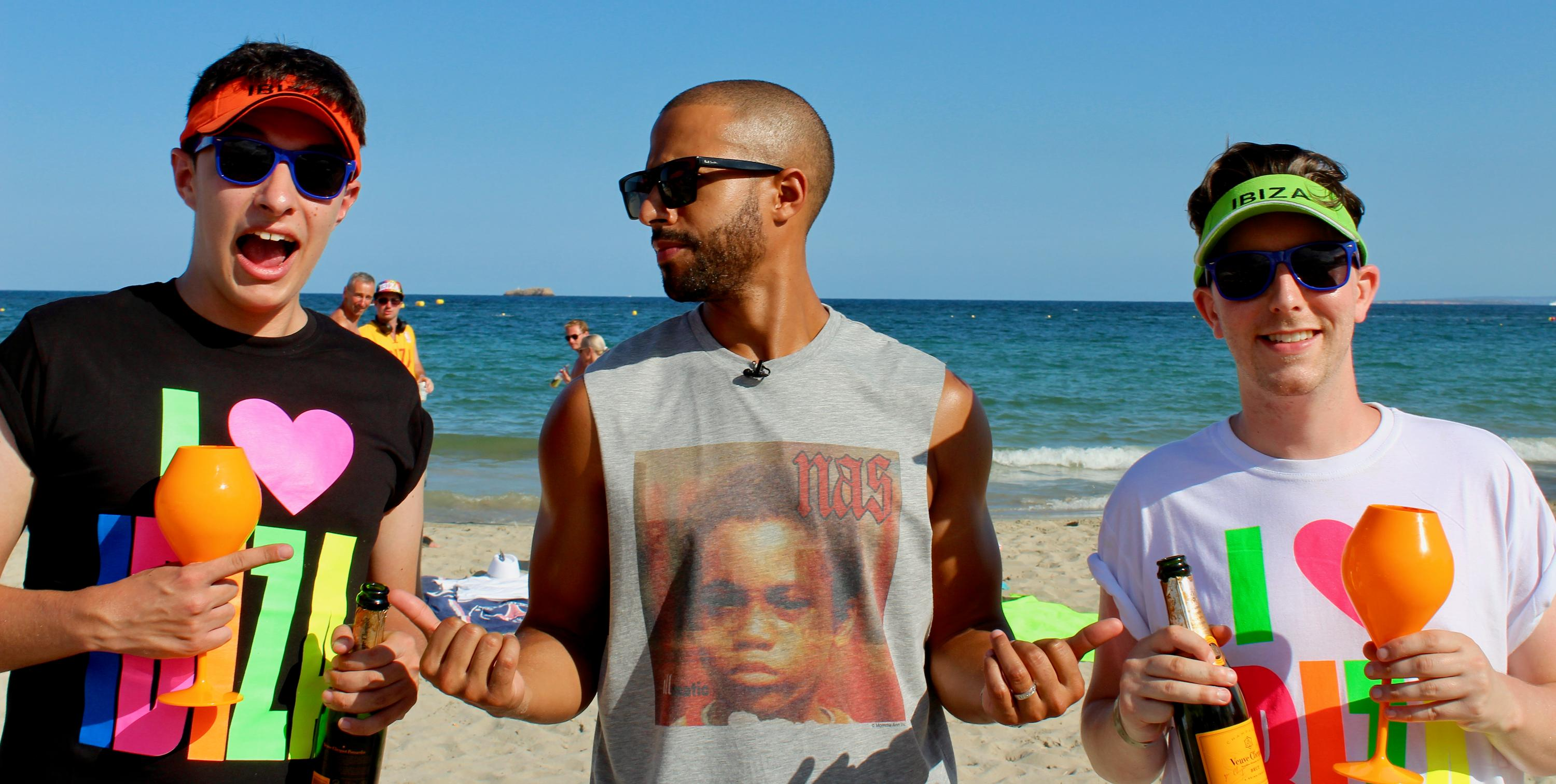Marvin Humes' Butlers in Ibiza