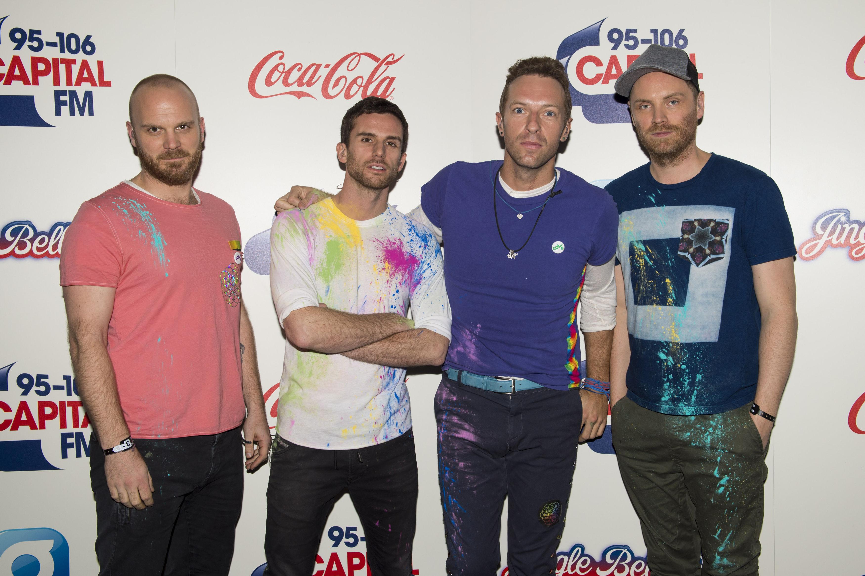 Coldplay Capital Jingle Bell Ball 2016