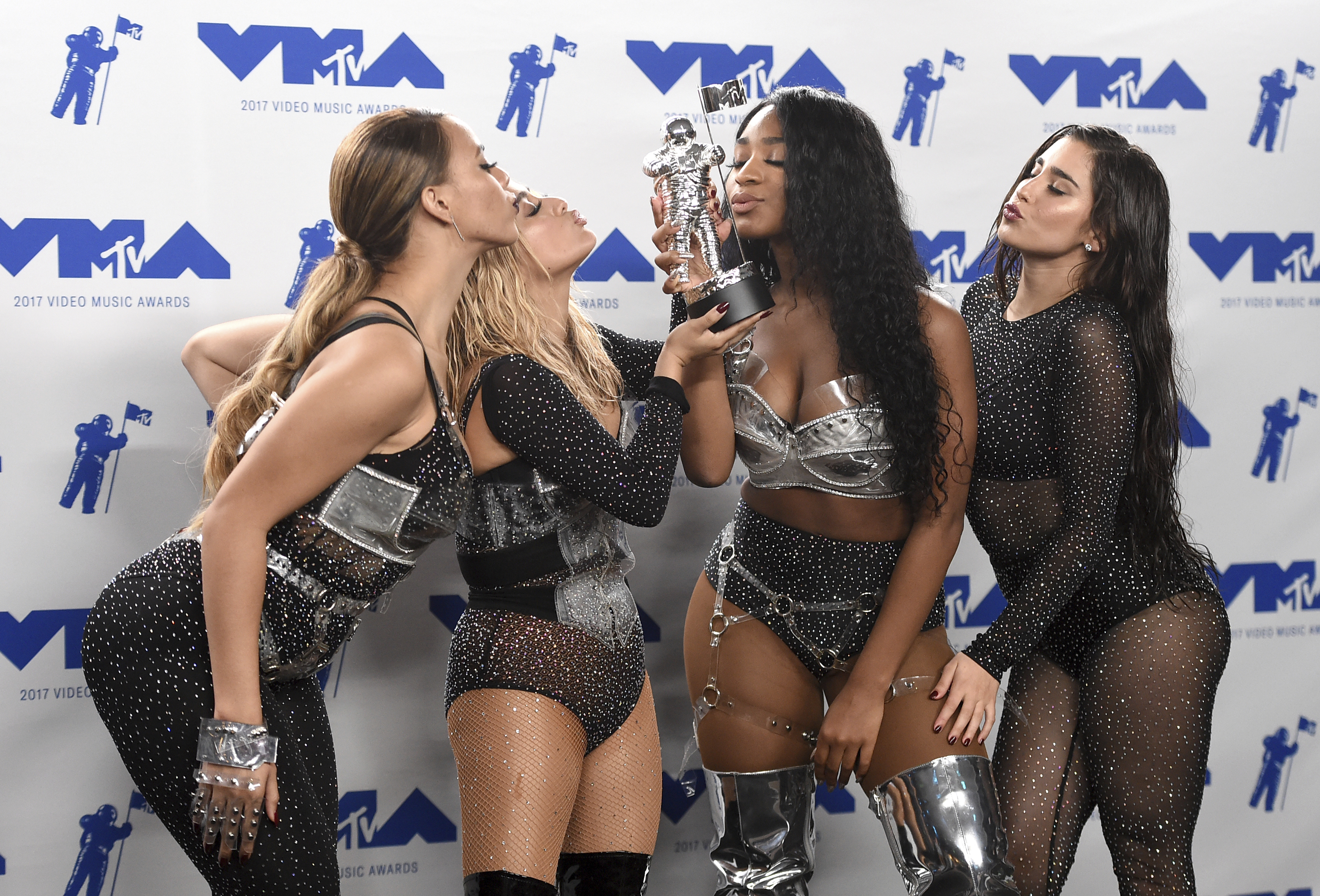 Fifth Harmony Show Off Their Individual Styles at 2017 MTV VMAs