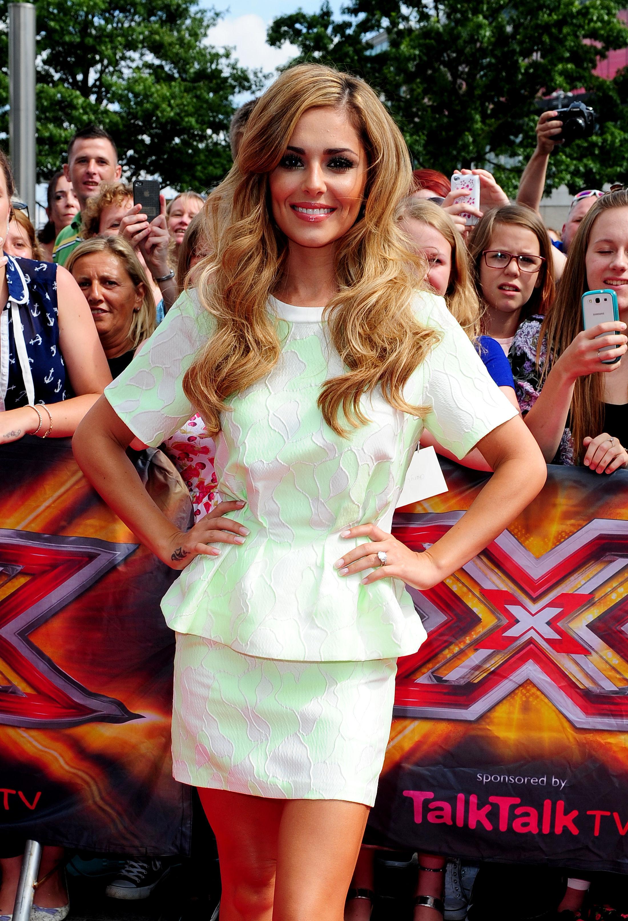 Cheryl on X Factor 2014