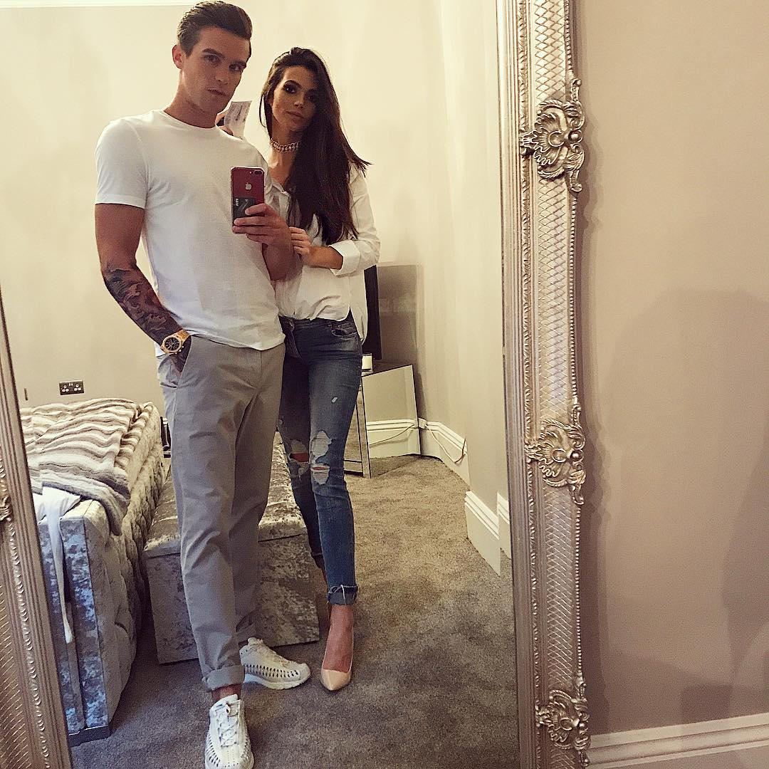 Gaz Beadle and Emma McVey Instagram