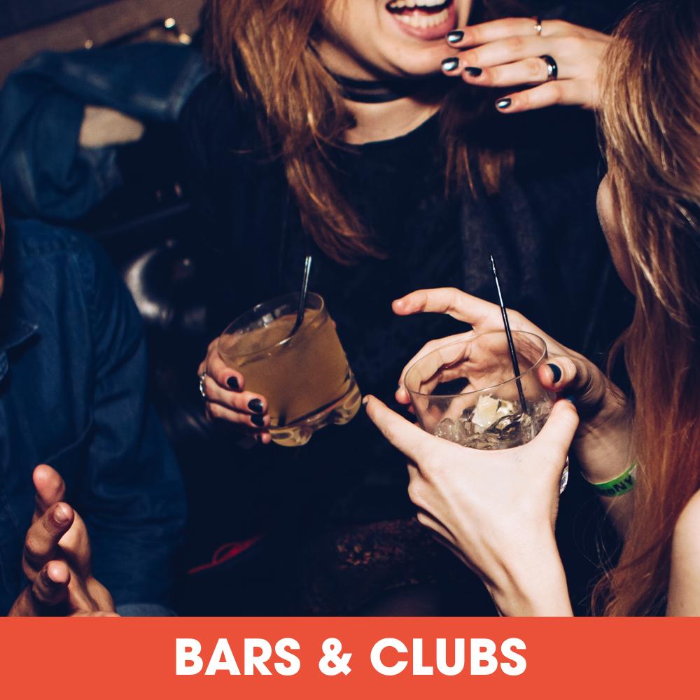 Bars & Clubs Landing