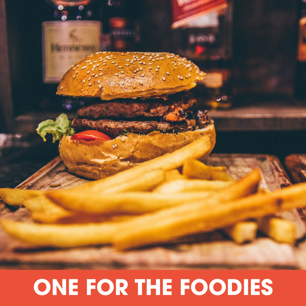 One For The Foodies Landing
