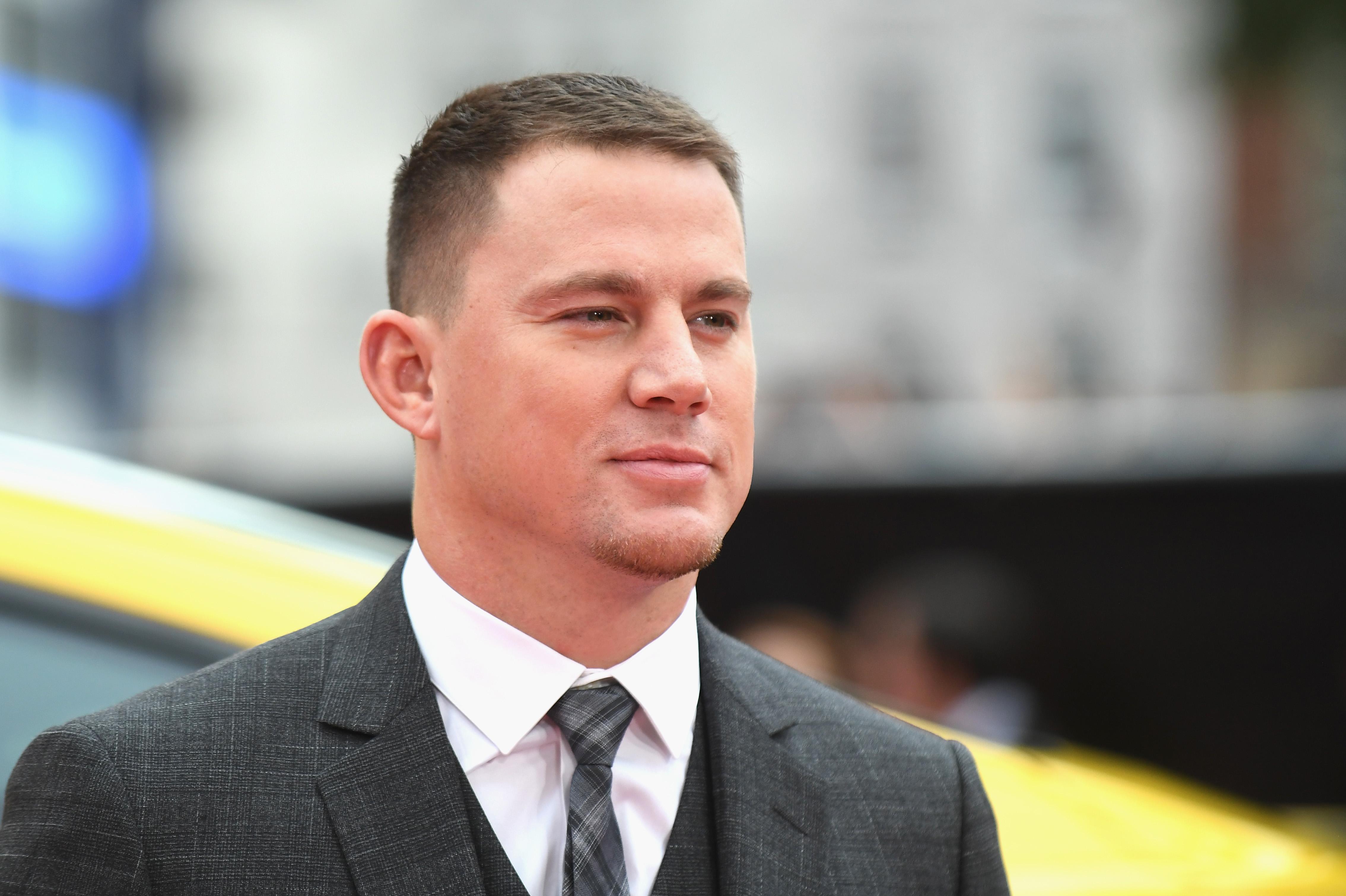 Channing Tatum 'Logan Lucky' UK Premiere