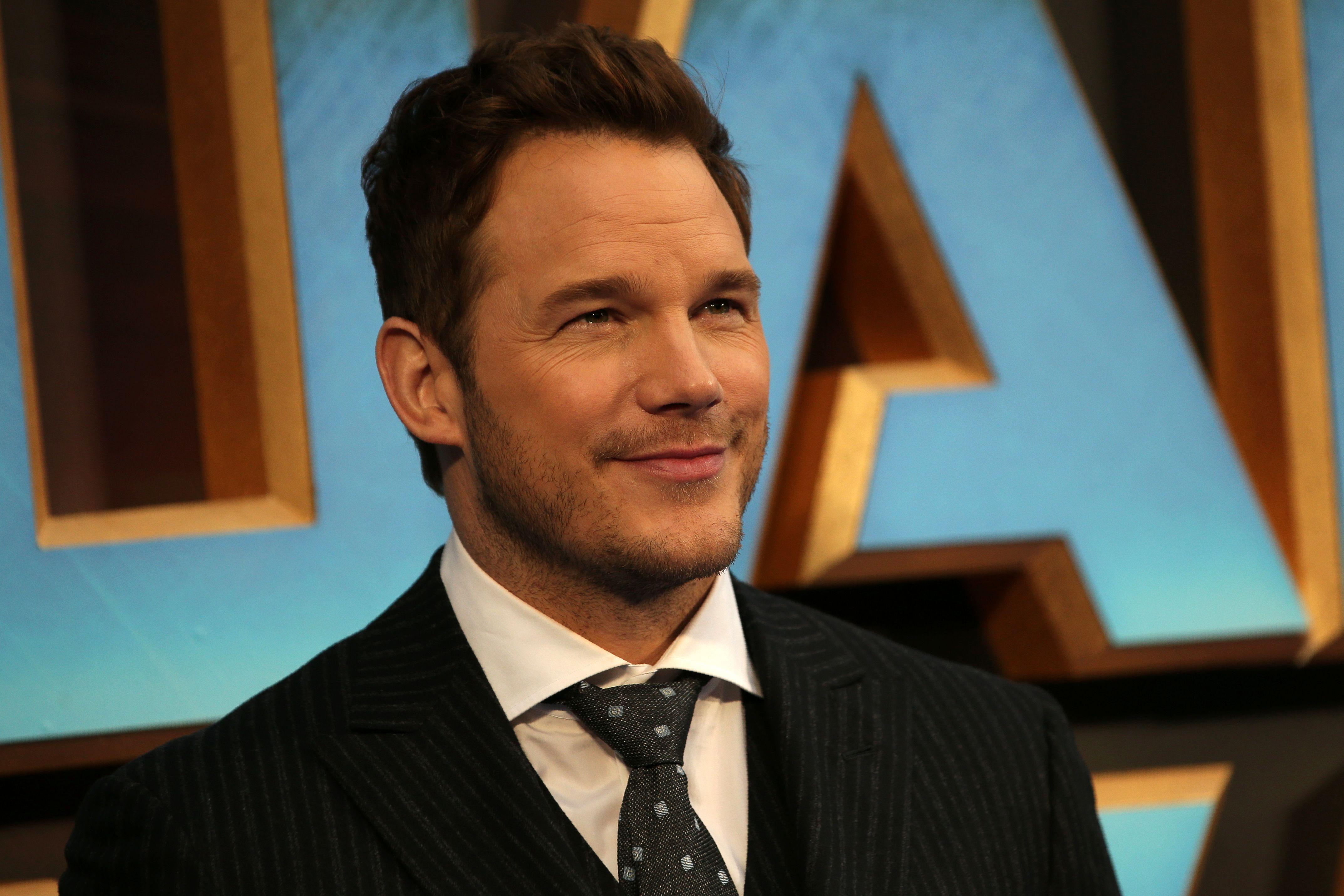 Chris Pratt 'Guardians of the Galaxy' Premiere