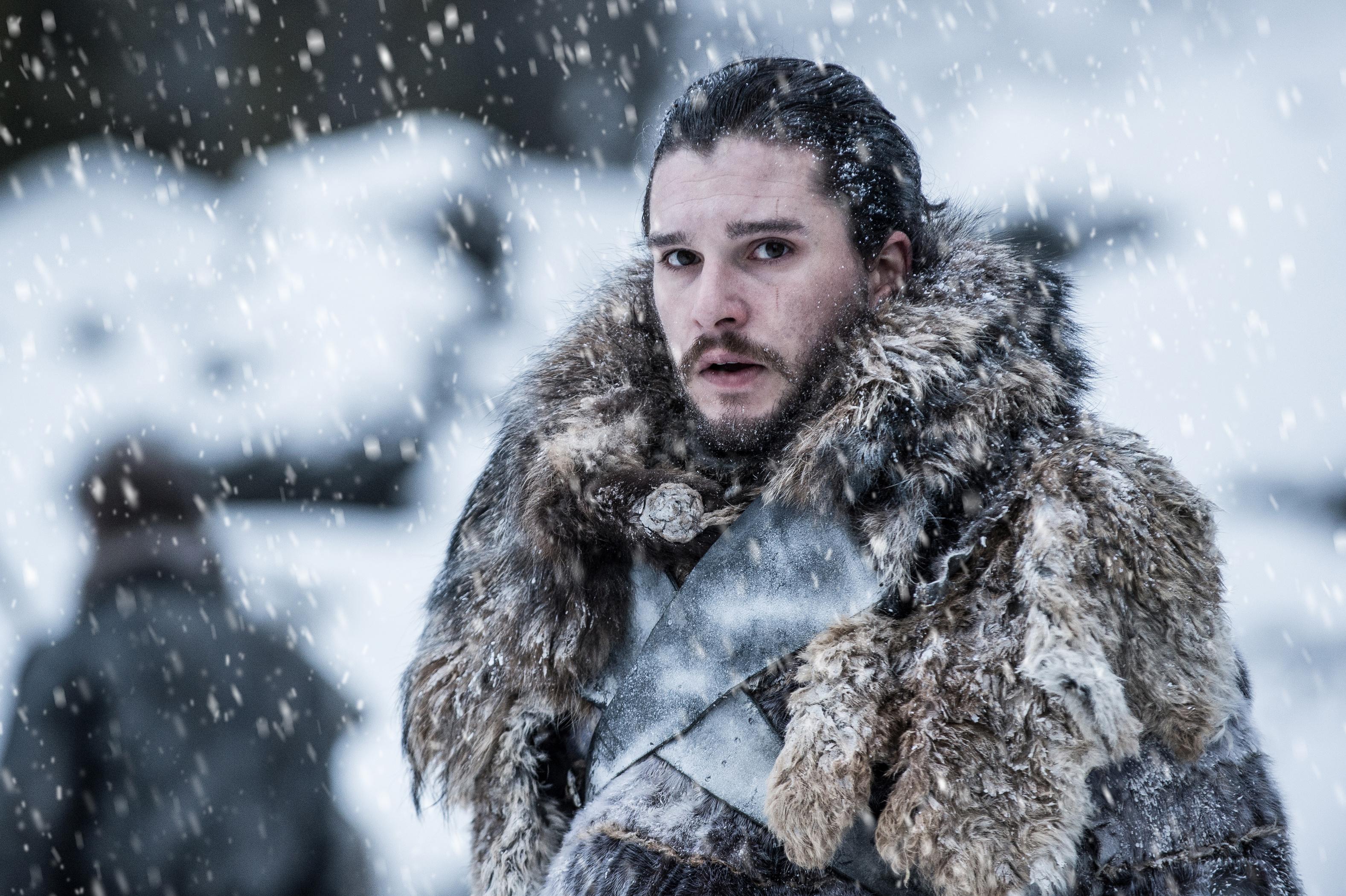 Kit Harington as Jon Snow Game of Thrones