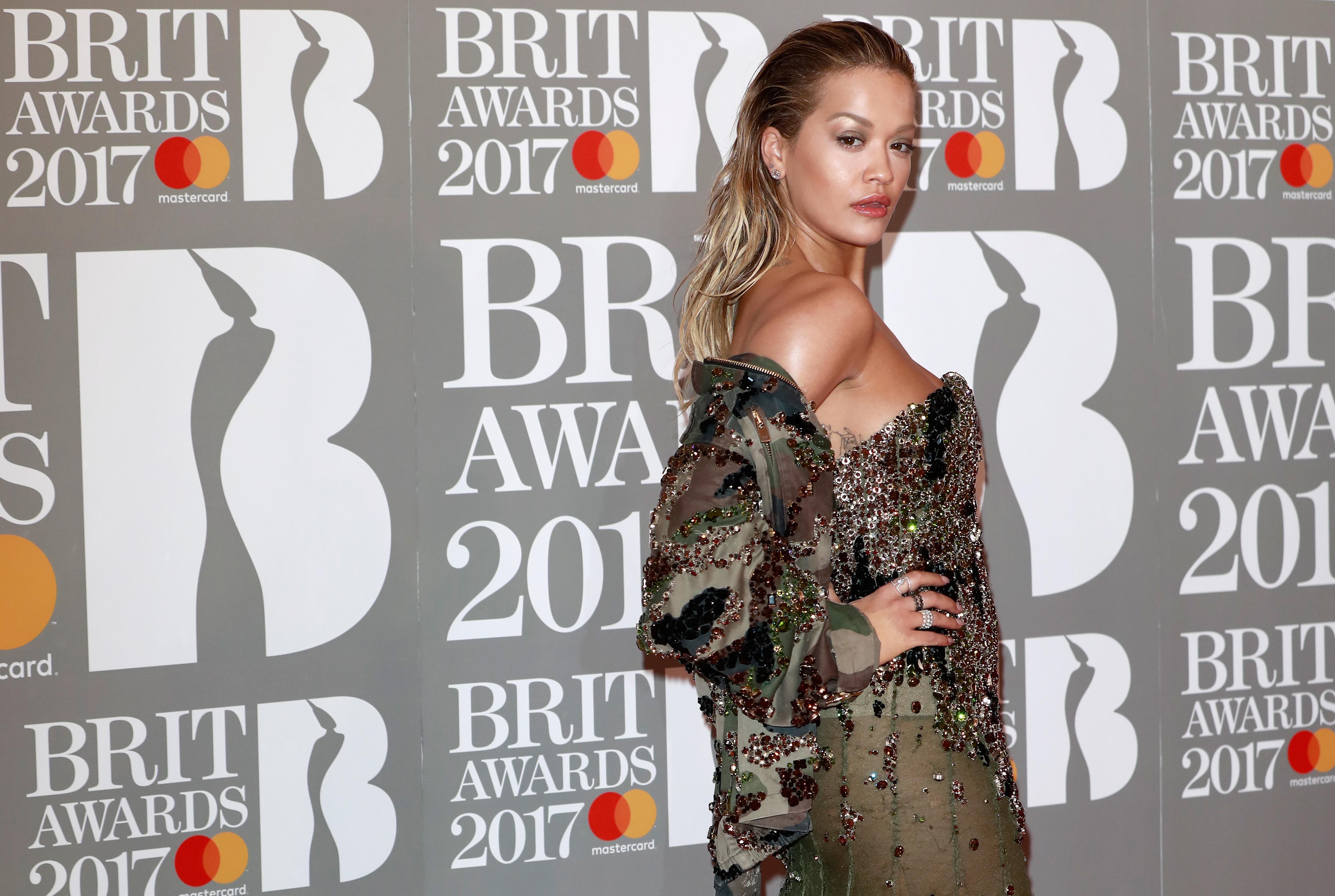 Rita Ora The BRIT Awards 2017