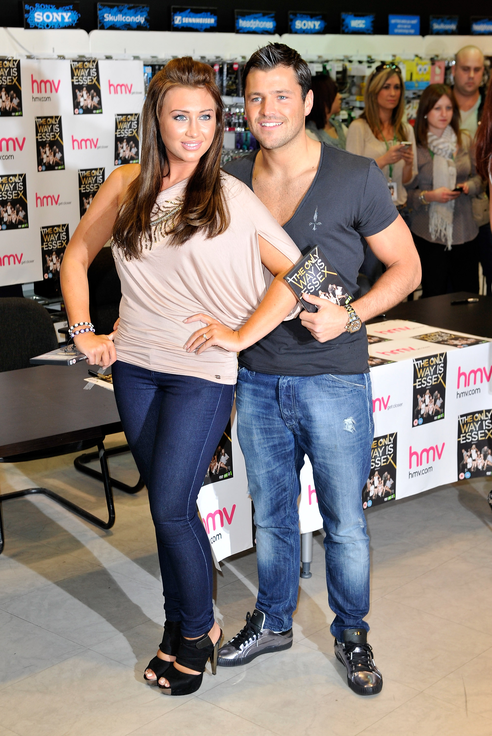 Lauren Goodger & Mark Wright