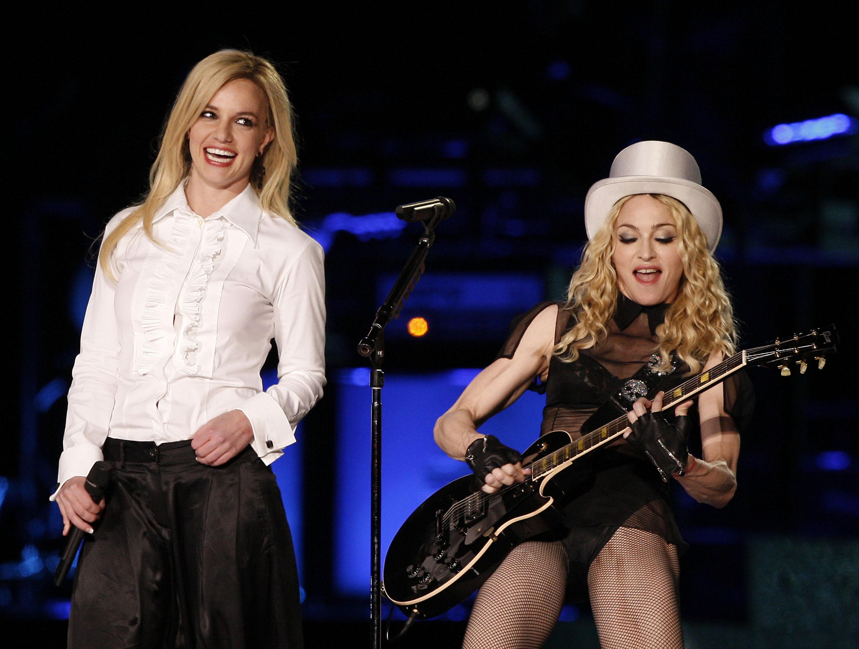 Madonna Performs at Dodger Stadium