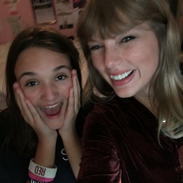 Taylor Swift Surprise Fan Instagram