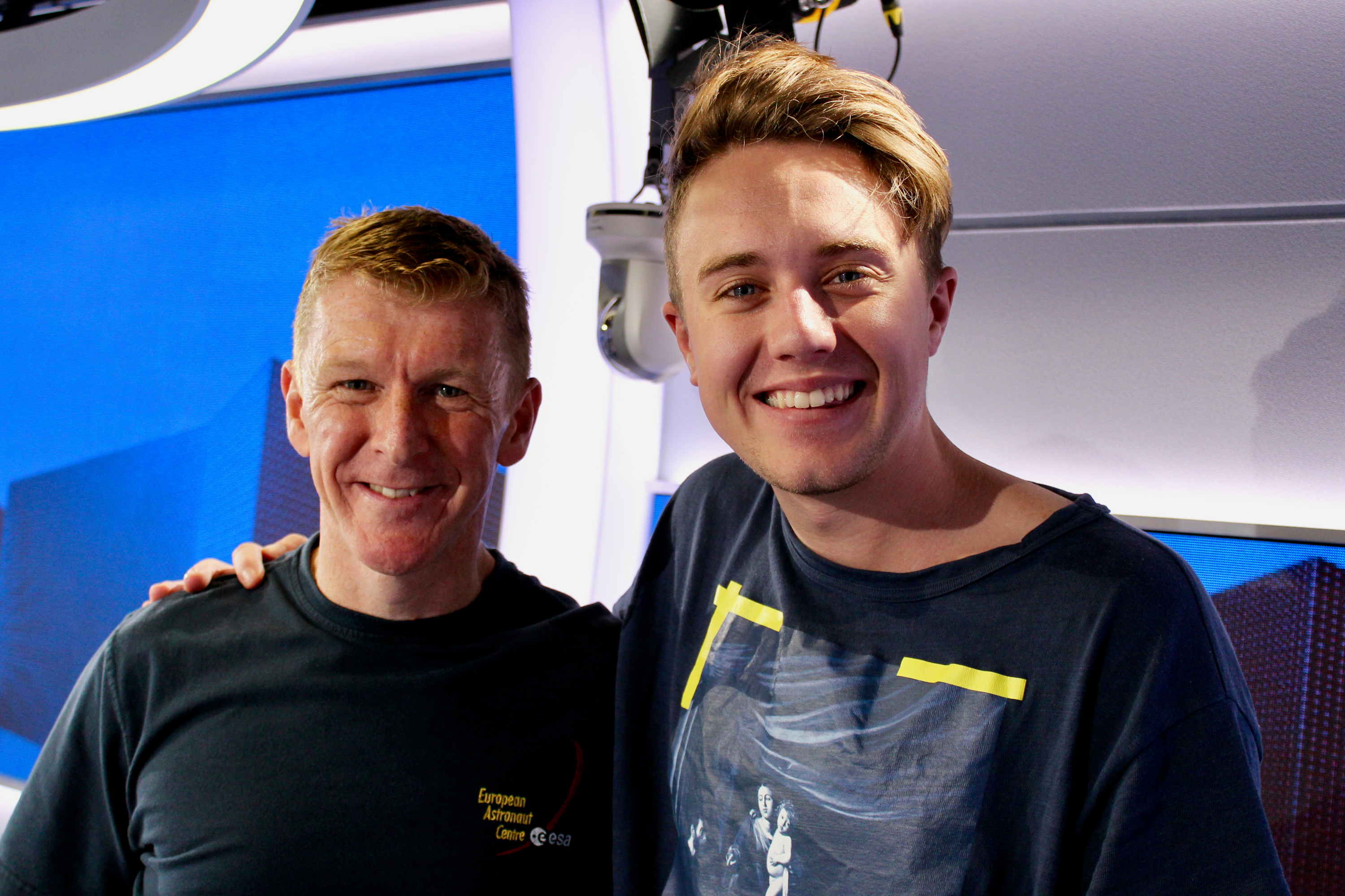 Tim Peake on Capital Breakfast w/ Roman Kemp
