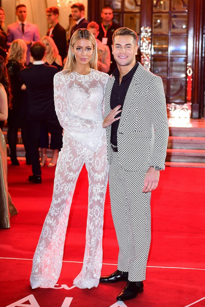 Chris Hughes and Olivia Attwood Red Carpet