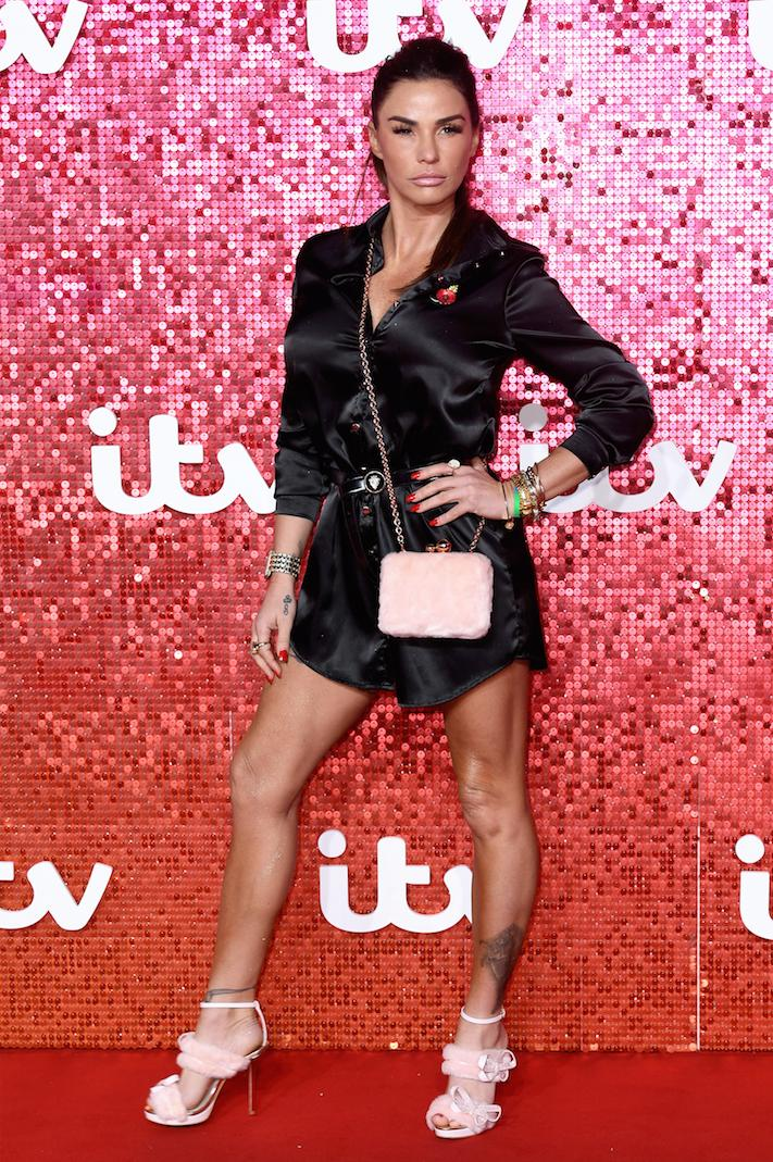 Katie Price ITV Red Carpet