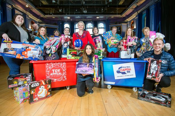 St David's Toy Appeal collection