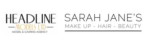 Headline Models and Sarah Jane Logo