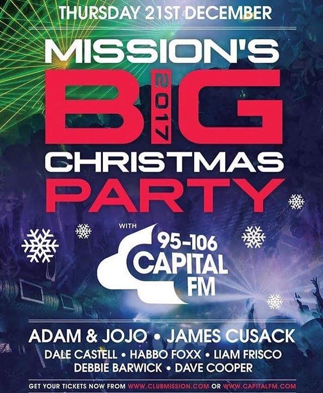 Poster Mission Leeds