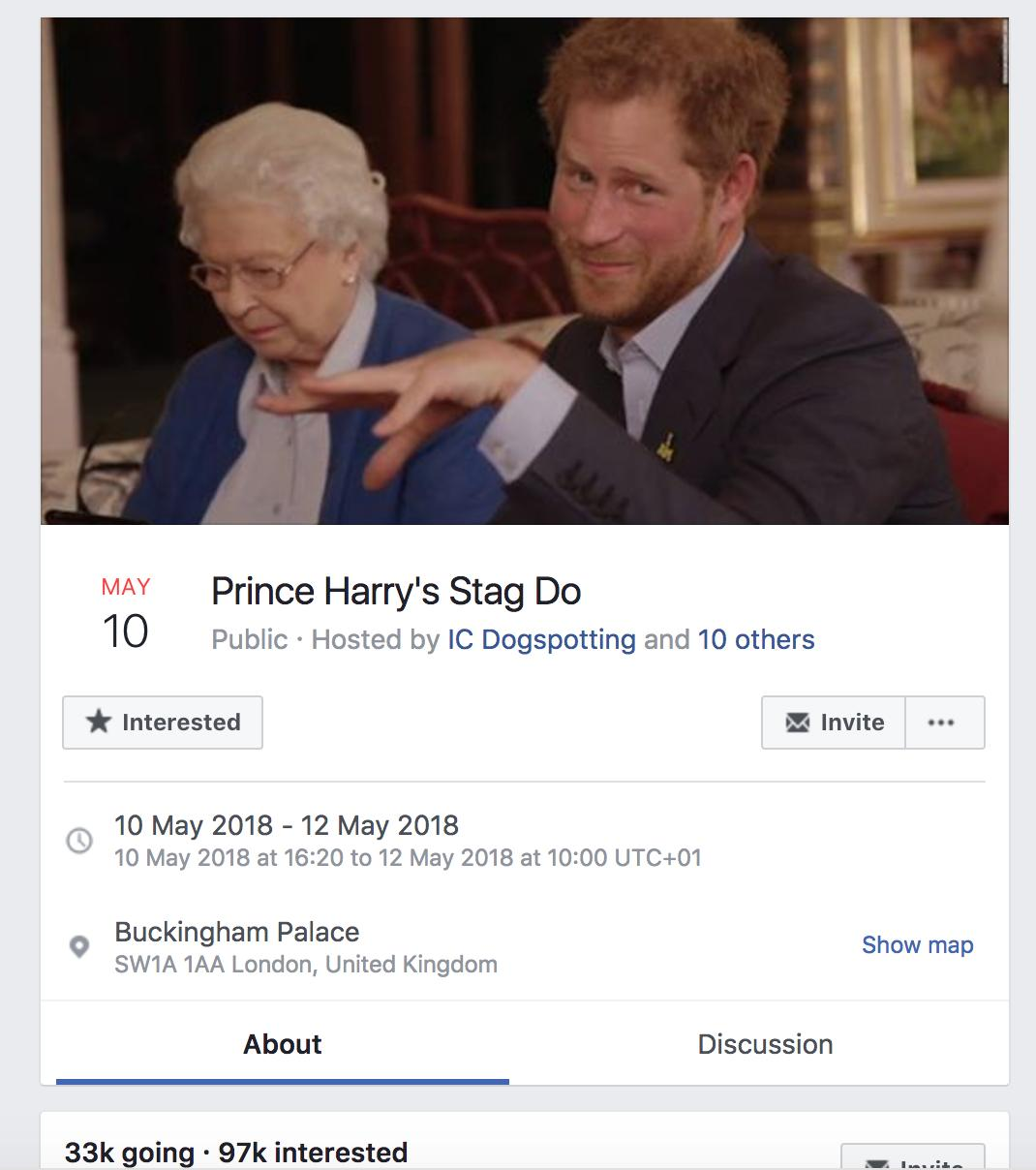 Prince Harry stag do