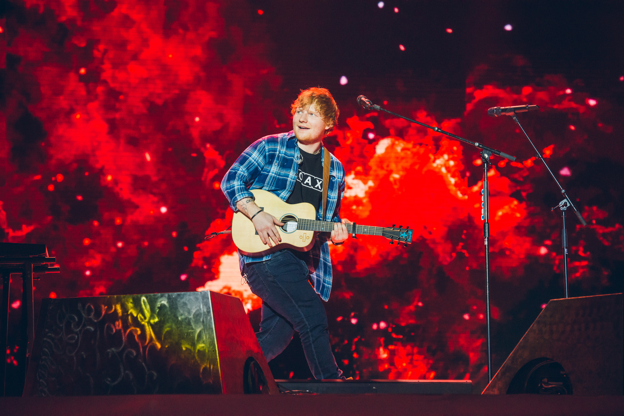 Ed Sheeran Jingle Bell Ball 2017