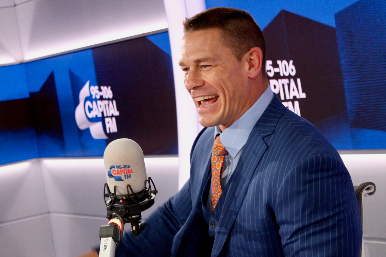 John Cena on Capital Breakfast w/ Roman Kemp