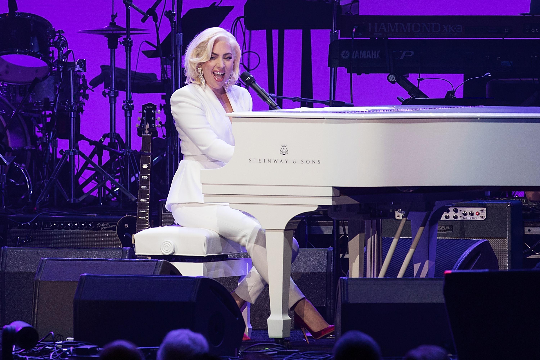 Lady Gaga Hurricane Harvey First Responders