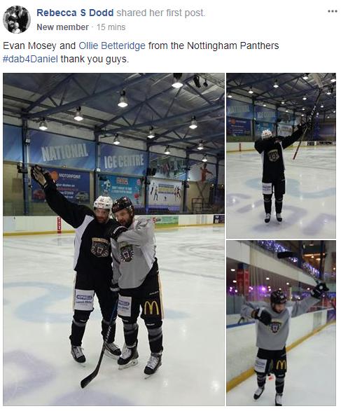 #Dab4Daniel Nottingham Panthers